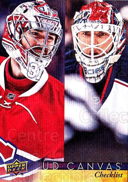 2017-18 Upper Deck Canvas #90 Carey Price, Sergei Bobrovsky, Checklist<br/>1 In Stock - $5.00 each - <a href=https://centericecollectibles.foxycart.com/cart?name=2017-18%20Upper%20Deck%20Canvas%20%2390%20Carey%20Price,%20Se...&quantity_max=1&price=$5.00&code=728759 class=foxycart> Buy it now! </a>