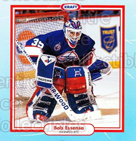1993-94 Kraft Recipes #2 Bob Essensa<br/>8 In Stock - $3.00 each - <a href=https://centericecollectibles.foxycart.com/cart?name=1993-94%20Kraft%20Recipes%20%232%20Bob%20Essensa...&quantity_max=8&price=$3.00&code=7287 class=foxycart> Buy it now! </a>