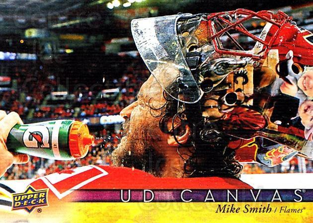 2017-18 Upper Deck Canvas #131 Mike Smith<br/>1 In Stock - $2.00 each - <a href=https://centericecollectibles.foxycart.com/cart?name=2017-18%20Upper%20Deck%20Canvas%20%23131%20Mike%20Smith...&quantity_max=1&price=$2.00&code=728800 class=foxycart> Buy it now! </a>
