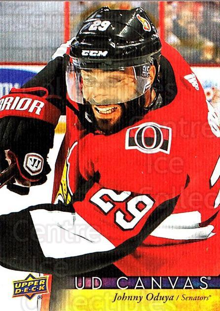2017-18 Upper Deck Canvas #178 Johnny Oduya<br/>1 In Stock - $2.00 each - <a href=https://centericecollectibles.foxycart.com/cart?name=2017-18%20Upper%20Deck%20Canvas%20%23178%20Johnny%20Oduya...&quantity_max=1&price=$2.00&code=728847 class=foxycart> Buy it now! </a>