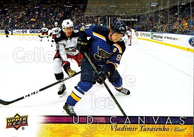 2017-18 Upper Deck Canvas #188 Vladimir Tarasenko<br/>1 In Stock - $3.00 each - <a href=https://centericecollectibles.foxycart.com/cart?name=2017-18%20Upper%20Deck%20Canvas%20%23188%20Vladimir%20Tarase...&quantity_max=1&price=$3.00&code=728857 class=foxycart> Buy it now! </a>