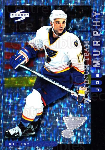 1997-98 Score St. Louis Blues Platinum #3 Joe Murphy<br/>1 In Stock - $5.00 each - <a href=https://centericecollectibles.foxycart.com/cart?name=1997-98%20Score%20St.%20Louis%20Blues%20Platinum%20%233%20Joe%20Murphy...&quantity_max=1&price=$5.00&code=728982 class=foxycart> Buy it now! </a>