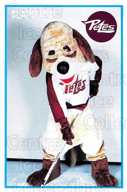 1991-92 Peterborough Petes #8 Mascot<br/>2 In Stock - $3.00 each - <a href=https://centericecollectibles.foxycart.com/cart?name=1991-92%20Peterborough%20Petes%20%238%20Mascot...&quantity_max=2&price=$3.00&code=729113 class=foxycart> Buy it now! </a>