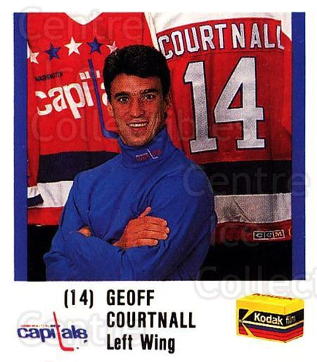 1988-89 Washington Capitals Kodak #4 Geoff Courtnall<br/>1 In Stock - $3.00 each - <a href=https://centericecollectibles.foxycart.com/cart?name=1988-89%20Washington%20Capitals%20Kodak%20%234%20Geoff%20Courtnall...&quantity_max=1&price=$3.00&code=729186 class=foxycart> Buy it now! </a>