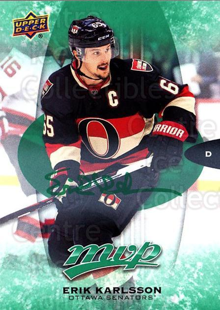 2016-17 Upper Deck MVP Green #202 Erik Karlsson<br/>1 In Stock - $5.00 each - <a href=https://centericecollectibles.foxycart.com/cart?name=2016-17%20Upper%20Deck%20MVP%20Green%20%23202%20Erik%20Karlsson...&quantity_max=1&price=$5.00&code=729364 class=foxycart> Buy it now! </a>