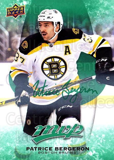 2016-17 Upper Deck MVP Green #247 Patrice Bergeron<br/>1 In Stock - $5.00 each - <a href=https://centericecollectibles.foxycart.com/cart?name=2016-17%20Upper%20Deck%20MVP%20Green%20%23247%20Patrice%20Bergero...&quantity_max=1&price=$5.00&code=729435 class=foxycart> Buy it now! </a>