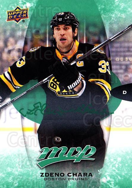 2016-17 Upper Deck MVP Green #52 Zdeno Chara<br/>1 In Stock - $3.00 each - <a href=https://centericecollectibles.foxycart.com/cart?name=2016-17%20Upper%20Deck%20MVP%20Green%20%2352%20Zdeno%20Chara...&quantity_max=1&price=$3.00&code=729447 class=foxycart> Buy it now! </a>