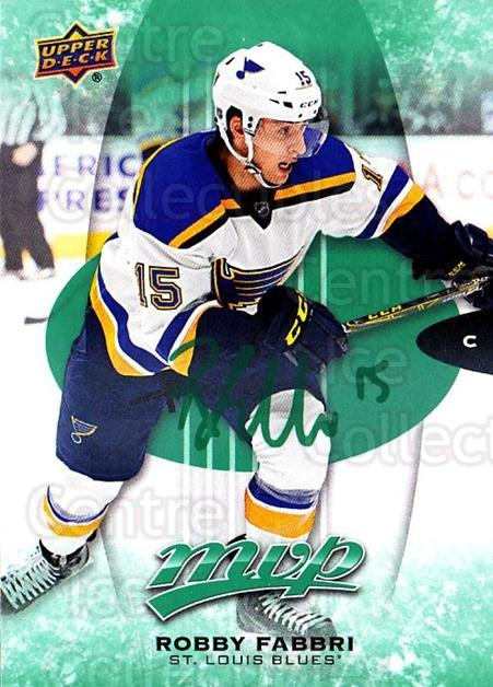 2016-17 Upper Deck MVP Green #108 Robby Fabbri<br/>1 In Stock - $3.00 each - <a href=https://centericecollectibles.foxycart.com/cart?name=2016-17%20Upper%20Deck%20MVP%20Green%20%23108%20Robby%20Fabbri...&quantity_max=1&price=$3.00&code=729456 class=foxycart> Buy it now! </a>