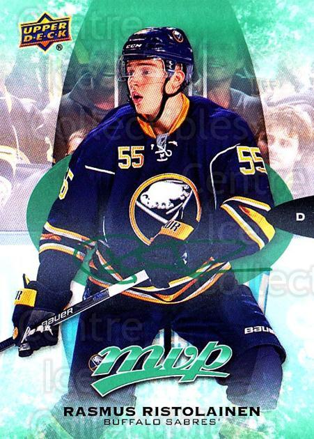 2016-17 Upper Deck MVP Green #129 Rasmus Ristolainen<br/>1 In Stock - $3.00 each - <a href=https://centericecollectibles.foxycart.com/cart?name=2016-17%20Upper%20Deck%20MVP%20Green%20%23129%20Rasmus%20Ristolai...&quantity_max=1&price=$3.00&code=729461 class=foxycart> Buy it now! </a>