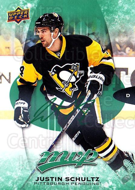 2016-17 Upper Deck MVP Green #80 Justin Schultz<br/>2 In Stock - $3.00 each - <a href=https://centericecollectibles.foxycart.com/cart?name=2016-17%20Upper%20Deck%20MVP%20Green%20%2380%20Justin%20Schultz...&quantity_max=2&price=$3.00&code=729495 class=foxycart> Buy it now! </a>