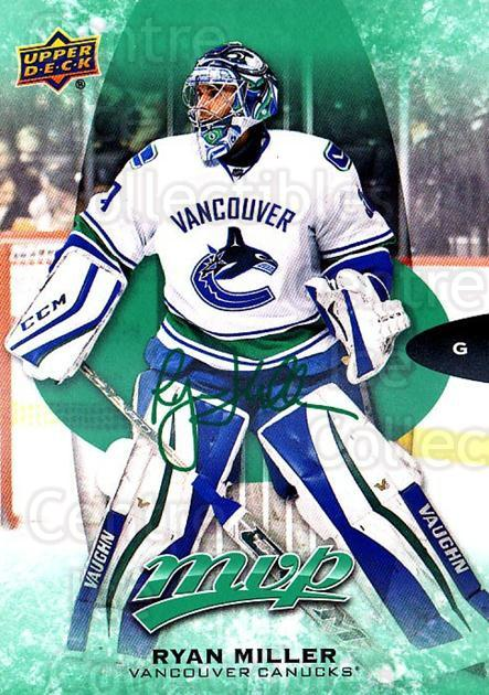 2016-17 Upper Deck MVP Green #70 Ryan Miller<br/>1 In Stock - $3.00 each - <a href=https://centericecollectibles.foxycart.com/cart?name=2016-17%20Upper%20Deck%20MVP%20Green%20%2370%20Ryan%20Miller...&quantity_max=1&price=$3.00&code=729533 class=foxycart> Buy it now! </a>