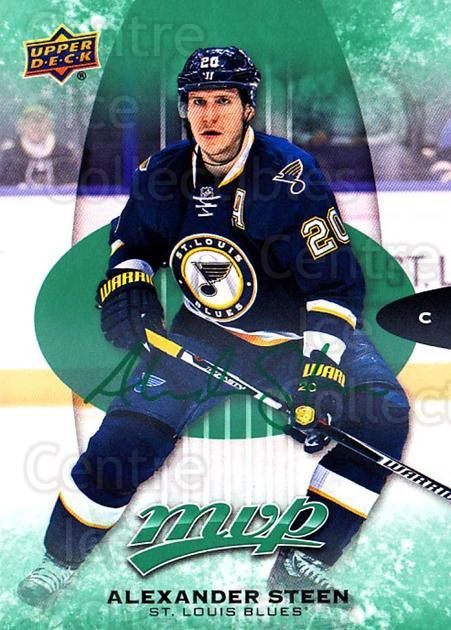 2016-17 Upper Deck MVP Green #112 Alexander Steen<br/>2 In Stock - $3.00 each - <a href=https://centericecollectibles.foxycart.com/cart?name=2016-17%20Upper%20Deck%20MVP%20Green%20%23112%20Alexander%20Steen...&quantity_max=2&price=$3.00&code=729545 class=foxycart> Buy it now! </a>