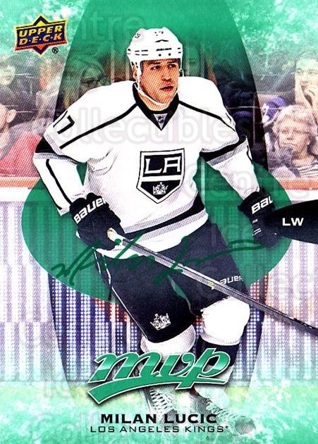 2016-17 Upper Deck MVP Green #115 Milan Lucic<br/>2 In Stock - $3.00 each - <a href=https://centericecollectibles.foxycart.com/cart?name=2016-17%20Upper%20Deck%20MVP%20Green%20%23115%20Milan%20Lucic...&quantity_max=2&price=$3.00&code=729546 class=foxycart> Buy it now! </a>