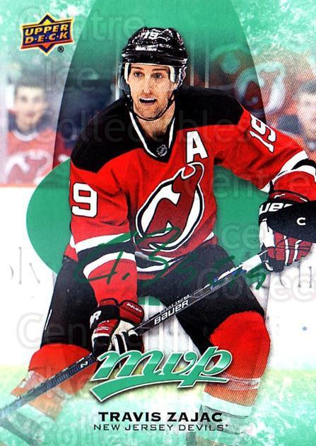 2016-17 Upper Deck MVP Green #86 Travis Zajac<br/>2 In Stock - $3.00 each - <a href=https://centericecollectibles.foxycart.com/cart?name=2016-17%20Upper%20Deck%20MVP%20Green%20%2386%20Travis%20Zajac...&quantity_max=2&price=$3.00&code=729631 class=foxycart> Buy it now! </a>