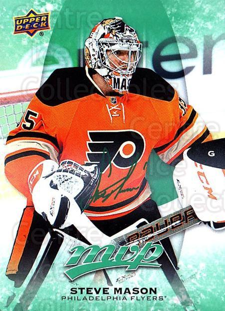 2016-17 Upper Deck MVP Green #111 Steve Mason<br/>2 In Stock - $3.00 each - <a href=https://centericecollectibles.foxycart.com/cart?name=2016-17%20Upper%20Deck%20MVP%20Green%20%23111%20Steve%20Mason...&quantity_max=2&price=$3.00&code=729633 class=foxycart> Buy it now! </a>