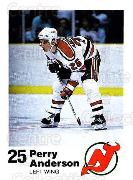 1987-88 New Jersey Devils Team Issue #1 Perry Anderson<br/>1 In Stock - $5.00 each - <a href=https://centericecollectibles.foxycart.com/cart?name=1987-88%20New%20Jersey%20Devils%20Team%20Issue%20%231%20Perry%20Anderson...&quantity_max=1&price=$5.00&code=729759 class=foxycart> Buy it now! </a>