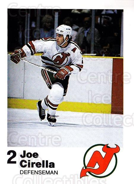 1987-88 New Jersey Devils Team Issue #6 Joe Cirella<br/>1 In Stock - $5.00 each - <a href=https://centericecollectibles.foxycart.com/cart?name=1987-88%20New%20Jersey%20Devils%20Team%20Issue%20%236%20Joe%20Cirella...&quantity_max=1&price=$5.00&code=729764 class=foxycart> Buy it now! </a>