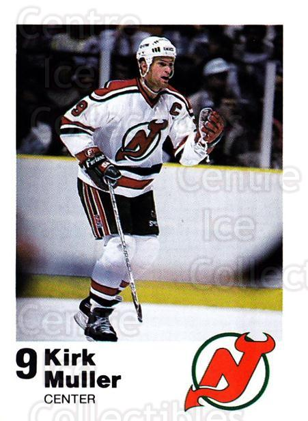 1987-88 New Jersey Devils Team Issue #19 Kirk Muller<br/>1 In Stock - $5.00 each - <a href=https://centericecollectibles.foxycart.com/cart?name=1987-88%20New%20Jersey%20Devils%20Team%20Issue%20%2319%20Kirk%20Muller...&quantity_max=1&price=$5.00&code=729777 class=foxycart> Buy it now! </a>