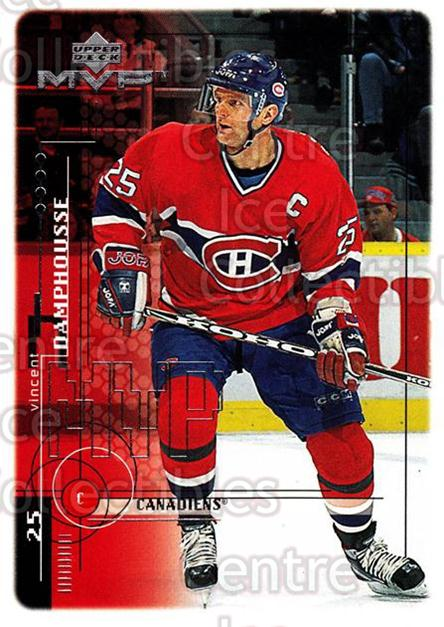1998-99 Upper Deck MVP #101 Vincent Damphousse<br/>14 In Stock - $1.00 each - <a href=https://centericecollectibles.foxycart.com/cart?name=1998-99%20Upper%20Deck%20MVP%20%23101%20Vincent%20Damphou...&quantity_max=14&price=$1.00&code=72978 class=foxycart> Buy it now! </a>