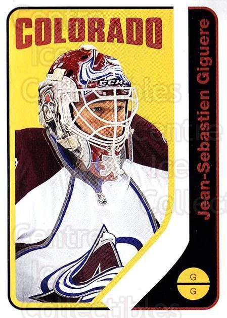 2014-15 O-Pee-chee Retro #3 Jean-Sebastien Giguere<br/>2 In Stock - $2.00 each - <a href=https://centericecollectibles.foxycart.com/cart?name=2014-15%20O-Pee-chee%20Retro%20%233%20Jean-Sebastien%20...&quantity_max=2&price=$2.00&code=729831 class=foxycart> Buy it now! </a>