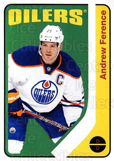 2014-15 O-Pee-chee Retro #7 Andrew Ference<br/>1 In Stock - $2.00 each - <a href=https://centericecollectibles.foxycart.com/cart?name=2014-15%20O-Pee-chee%20Retro%20%237%20Andrew%20Ference...&quantity_max=1&price=$2.00&code=729835 class=foxycart> Buy it now! </a>