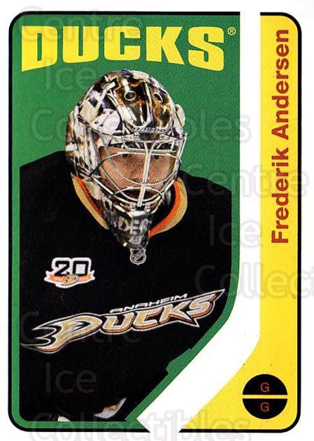 2014-15 O-Pee-chee Retro #57 Frederik Andersen<br/>1 In Stock - $2.00 each - <a href=https://centericecollectibles.foxycart.com/cart?name=2014-15%20O-Pee-chee%20Retro%20%2357%20Frederik%20Anders...&quantity_max=1&price=$2.00&code=729885 class=foxycart> Buy it now! </a>