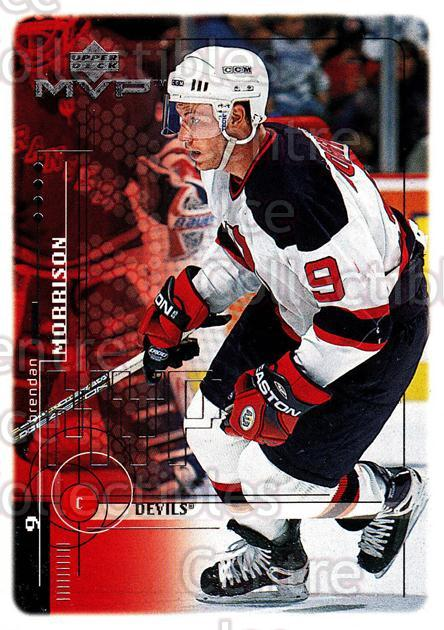 1998-99 Upper Deck MVP #118 Brendan Morrison<br/>14 In Stock - $1.00 each - <a href=https://centericecollectibles.foxycart.com/cart?name=1998-99%20Upper%20Deck%20MVP%20%23118%20Brendan%20Morriso...&quantity_max=14&price=$1.00&code=72995 class=foxycart> Buy it now! </a>