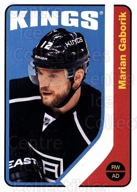 2014-15 O-Pee-chee Retro #156 Marian Gaborik<br/>2 In Stock - $2.00 each - <a href=https://centericecollectibles.foxycart.com/cart?name=2014-15%20O-Pee-chee%20Retro%20%23156%20Marian%20Gaborik...&quantity_max=2&price=$2.00&code=729984 class=foxycart> Buy it now! </a>