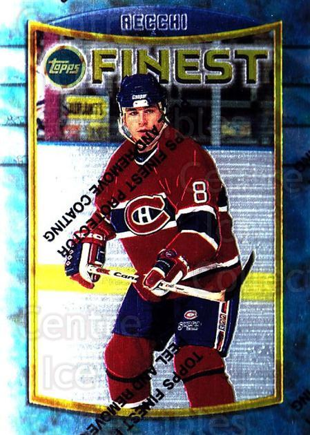 1994-95 Finest #109 Mark Recchi<br/>6 In Stock - $1.00 each - <a href=https://centericecollectibles.foxycart.com/cart?name=1994-95%20Finest%20%23109%20Mark%20Recchi...&quantity_max=6&price=$1.00&code=729 class=foxycart> Buy it now! </a>