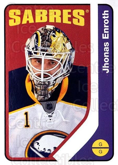 2014-15 O-Pee-chee Retro #255 Jhonas Enroth<br/>2 In Stock - $2.00 each - <a href=https://centericecollectibles.foxycart.com/cart?name=2014-15%20O-Pee-chee%20Retro%20%23255%20Jhonas%20Enroth...&quantity_max=2&price=$2.00&code=730083 class=foxycart> Buy it now! </a>