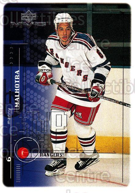 1998-99 Upper Deck MVP #134 Manny Malhotra<br/>14 In Stock - $1.00 each - <a href=https://centericecollectibles.foxycart.com/cart?name=1998-99%20Upper%20Deck%20MVP%20%23134%20Manny%20Malhotra...&quantity_max=14&price=$1.00&code=73013 class=foxycart> Buy it now! </a>