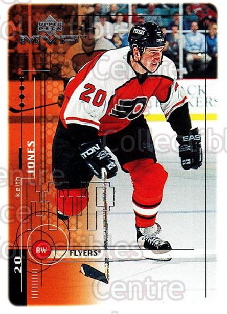 1998-99 Upper Deck MVP #150 Keith Jones<br/>11 In Stock - $1.00 each - <a href=https://centericecollectibles.foxycart.com/cart?name=1998-99%20Upper%20Deck%20MVP%20%23150%20Keith%20Jones...&quantity_max=11&price=$1.00&code=73031 class=foxycart> Buy it now! </a>