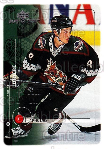 1998-99 Upper Deck MVP #157 Daniel Briere<br/>13 In Stock - $1.00 each - <a href=https://centericecollectibles.foxycart.com/cart?name=1998-99%20Upper%20Deck%20MVP%20%23157%20Daniel%20Briere...&quantity_max=13&price=$1.00&code=73038 class=foxycart> Buy it now! </a>