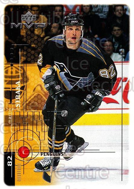 1998-99 Upper Deck MVP #168 Martin Straka<br/>13 In Stock - $1.00 each - <a href=https://centericecollectibles.foxycart.com/cart?name=1998-99%20Upper%20Deck%20MVP%20%23168%20Martin%20Straka...&quantity_max=13&price=$1.00&code=73050 class=foxycart> Buy it now! </a>