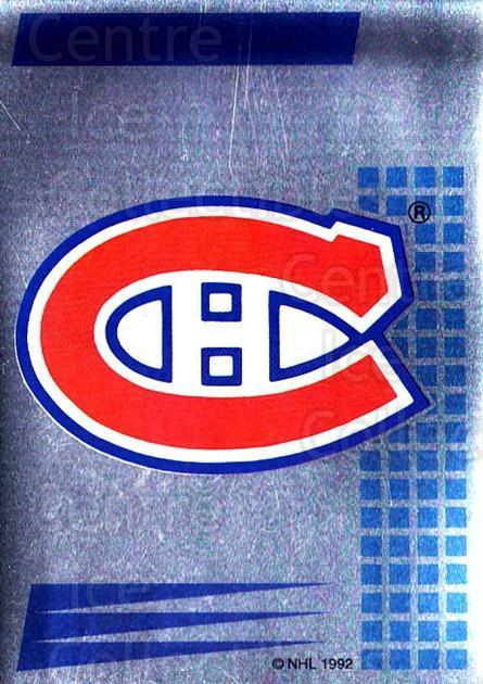 1992-93 Panini Stickers French #146 Montreal Canadiens<br/>1 In Stock - $5.00 each - <a href=https://centericecollectibles.foxycart.com/cart?name=1992-93%20Panini%20Stickers%20French%20%23146%20Montreal%20Canadi...&quantity_max=1&price=$5.00&code=730520 class=foxycart> Buy it now! </a>