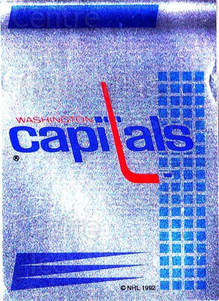 1992-93 Panini Stickers French #158 Washington Capitals<br/>1 In Stock - $5.00 each - <a href=https://centericecollectibles.foxycart.com/cart?name=1992-93%20Panini%20Stickers%20French%20%23158%20Washington%20Capi...&quantity_max=1&price=$5.00&code=730532 class=foxycart> Buy it now! </a>