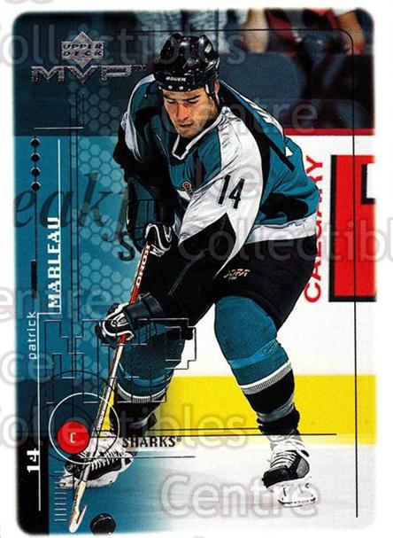 1998-99 Upper Deck MVP #170 Patrick Marleau<br/>14 In Stock - $1.00 each - <a href=https://centericecollectibles.foxycart.com/cart?name=1998-99%20Upper%20Deck%20MVP%20%23170%20Patrick%20Marleau...&quantity_max=14&price=$1.00&code=73053 class=foxycart> Buy it now! </a>
