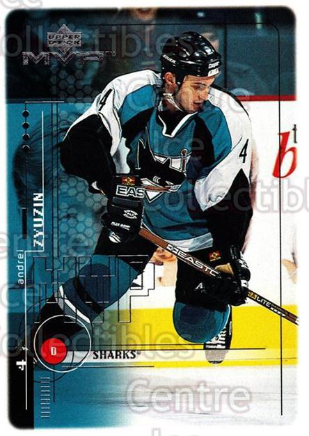 1998-99 Upper Deck MVP #171 Andrei Zyuzin<br/>14 In Stock - $1.00 each - <a href=https://centericecollectibles.foxycart.com/cart?name=1998-99%20Upper%20Deck%20MVP%20%23171%20Andrei%20Zyuzin...&quantity_max=14&price=$1.00&code=73054 class=foxycart> Buy it now! </a>