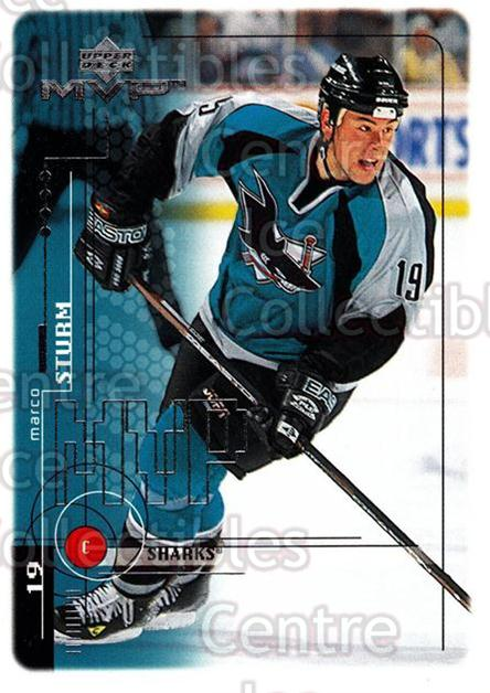 1998-99 Upper Deck MVP #172 Marco Sturm<br/>13 In Stock - $1.00 each - <a href=https://centericecollectibles.foxycart.com/cart?name=1998-99%20Upper%20Deck%20MVP%20%23172%20Marco%20Sturm...&quantity_max=13&price=$1.00&code=73055 class=foxycart> Buy it now! </a>