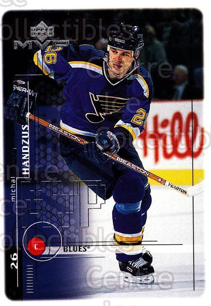 1998-99 Upper Deck MVP #182 Michal Handzus<br/>14 In Stock - $1.00 each - <a href=https://centericecollectibles.foxycart.com/cart?name=1998-99%20Upper%20Deck%20MVP%20%23182%20Michal%20Handzus...&quantity_max=14&price=$1.00&code=73066 class=foxycart> Buy it now! </a>