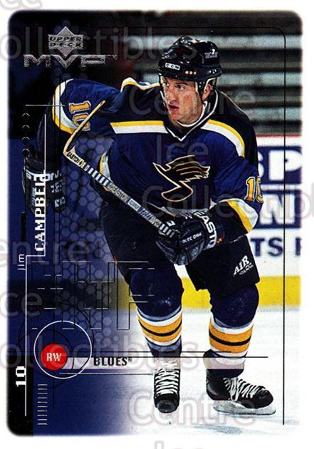 1998-99 Upper Deck MVP #183 Jim Campbell<br/>14 In Stock - $1.00 each - <a href=https://centericecollectibles.foxycart.com/cart?name=1998-99%20Upper%20Deck%20MVP%20%23183%20Jim%20Campbell...&quantity_max=14&price=$1.00&code=73067 class=foxycart> Buy it now! </a>