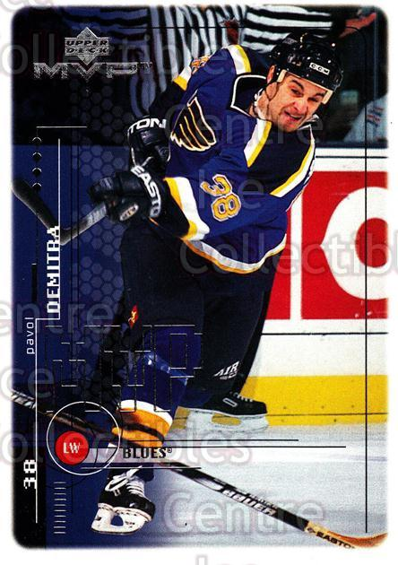 1998-99 Upper Deck MVP #185 Pavol Demitra<br/>12 In Stock - $1.00 each - <a href=https://centericecollectibles.foxycart.com/cart?name=1998-99%20Upper%20Deck%20MVP%20%23185%20Pavol%20Demitra...&quantity_max=12&price=$1.00&code=73069 class=foxycart> Buy it now! </a>