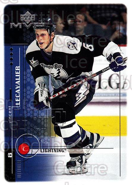 1998-99 Upper Deck MVP #187 Vincent Lecavalier<br/>13 In Stock - $1.00 each - <a href=https://centericecollectibles.foxycart.com/cart?name=1998-99%20Upper%20Deck%20MVP%20%23187%20Vincent%20Lecaval...&quantity_max=13&price=$1.00&code=73071 class=foxycart> Buy it now! </a>