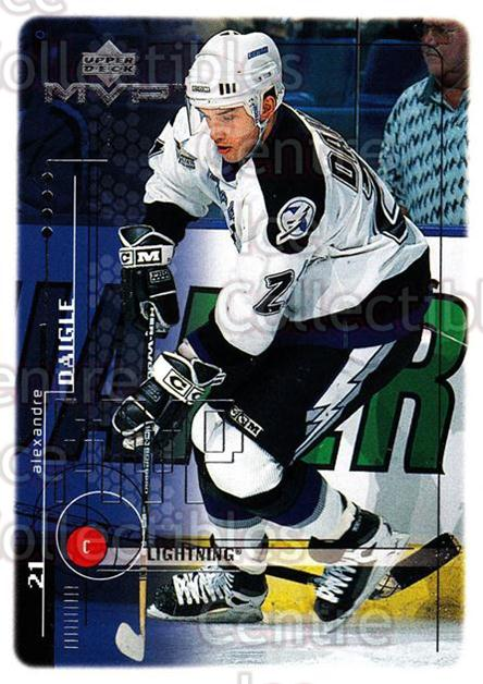 1998-99 Upper Deck MVP #189 Alexandre Daigle<br/>14 In Stock - $1.00 each - <a href=https://centericecollectibles.foxycart.com/cart?name=1998-99%20Upper%20Deck%20MVP%20%23189%20Alexandre%20Daigl...&quantity_max=14&price=$1.00&code=73073 class=foxycart> Buy it now! </a>