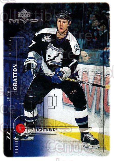 1998-99 Upper Deck MVP #192 Chris Gratton<br/>14 In Stock - $1.00 each - <a href=https://centericecollectibles.foxycart.com/cart?name=1998-99%20Upper%20Deck%20MVP%20%23192%20Chris%20Gratton...&quantity_max=14&price=$1.00&code=73077 class=foxycart> Buy it now! </a>