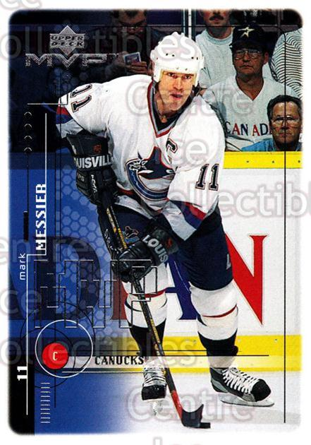 1998-99 Upper Deck MVP #201 Mark Messier<br/>14 In Stock - $1.00 each - <a href=https://centericecollectibles.foxycart.com/cart?name=1998-99%20Upper%20Deck%20MVP%20%23201%20Mark%20Messier...&quantity_max=14&price=$1.00&code=73088 class=foxycart> Buy it now! </a>