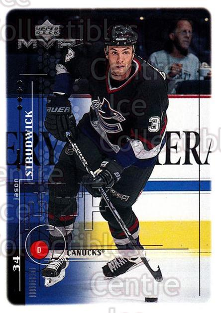 1998-99 Upper Deck MVP #202 Jason Strudwick<br/>11 In Stock - $1.00 each - <a href=https://centericecollectibles.foxycart.com/cart?name=1998-99%20Upper%20Deck%20MVP%20%23202%20Jason%20Strudwick...&quantity_max=11&price=$1.00&code=73089 class=foxycart> Buy it now! </a>