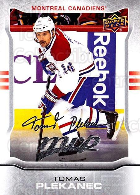2014-15 Upper Deck Mvp Silver Script #162 Tomas Plekanec<br/>1 In Stock - $2.00 each - <a href=https://centericecollectibles.foxycart.com/cart?name=2014-15%20Upper%20Deck%20Mvp%20Silver%20Script%20%23162%20Tomas%20Plekanec...&quantity_max=1&price=$2.00&code=730938 class=foxycart> Buy it now! </a>