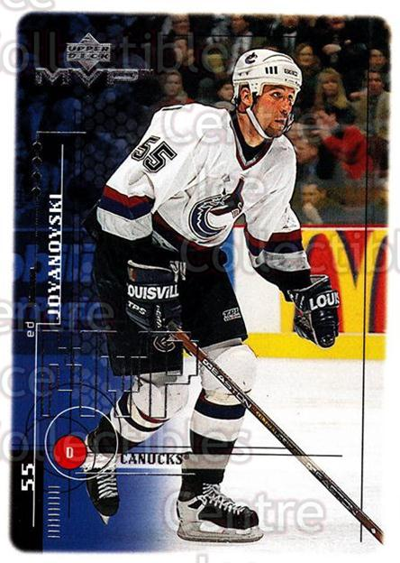 1998-99 Upper Deck MVP #206 Ed Jovanovski<br/>14 In Stock - $1.00 each - <a href=https://centericecollectibles.foxycart.com/cart?name=1998-99%20Upper%20Deck%20MVP%20%23206%20Ed%20Jovanovski...&quantity_max=14&price=$1.00&code=73093 class=foxycart> Buy it now! </a>