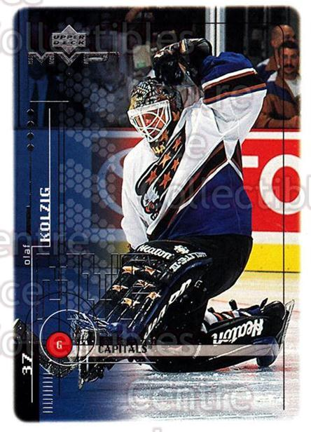 1998-99 Upper Deck MVP #210 Olaf Kolzig<br/>14 In Stock - $1.00 each - <a href=https://centericecollectibles.foxycart.com/cart?name=1998-99%20Upper%20Deck%20MVP%20%23210%20Olaf%20Kolzig...&quantity_max=14&price=$1.00&code=73098 class=foxycart> Buy it now! </a>